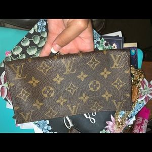 Louis Vuitton wristlet/pouch